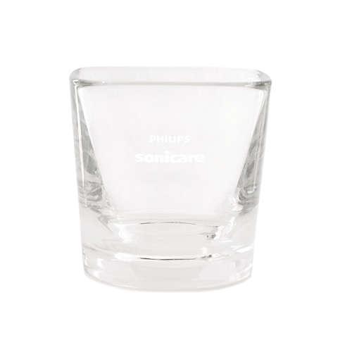 DiamondClean Vaso de cristal