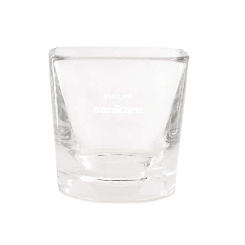 DiamondClean Glass Cup