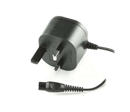 Til at forsyne shaveren med strøm