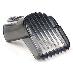 Hair clipper comb