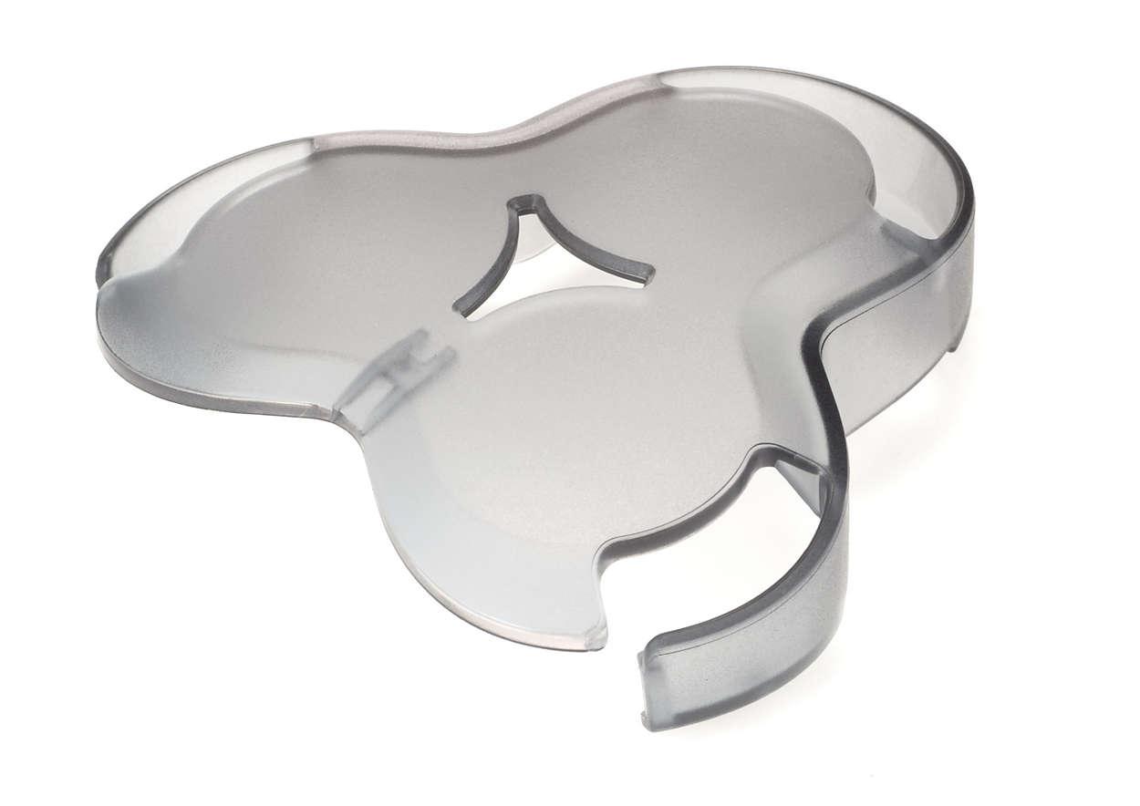 Для защиты головок на бритве