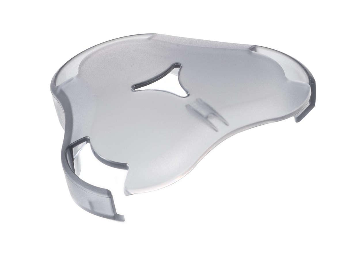 Na zakrytí hlavic holicího strojku