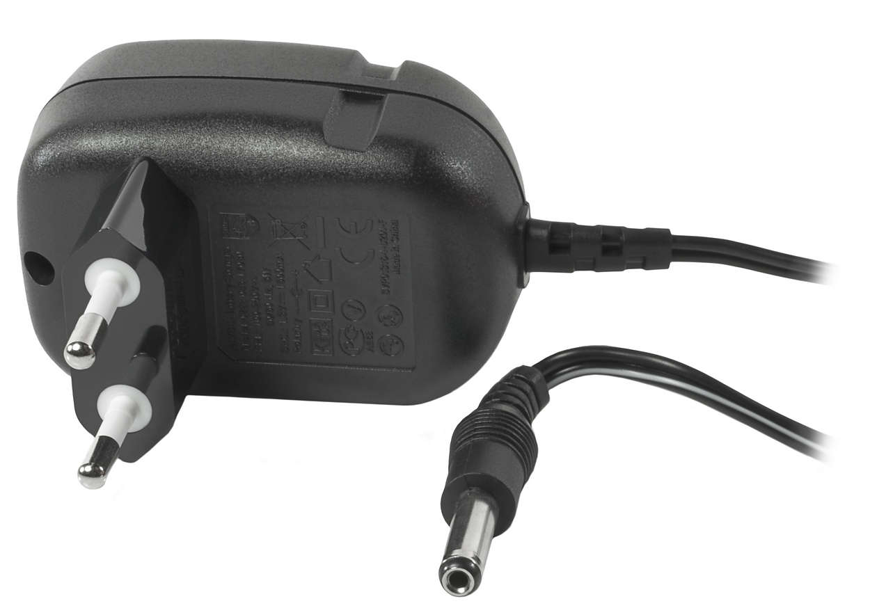 Så här strömförsörjer du hårklipparen