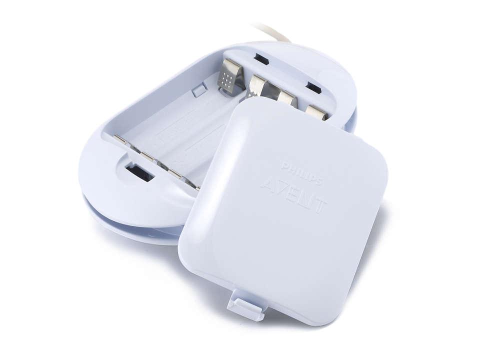 Für die Stromversorgung Ihrer elektronischen Milchpumpe