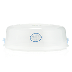 CRP408/01 - Philips Avent  Lid and clips for Microwave Steriliser