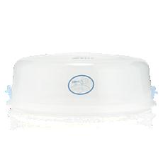 CRP408/01 - Philips Avent  Coperchio e clip per sterilizzatore microonde
