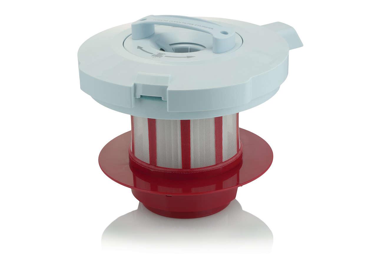 Pour une filtration d'air optimale