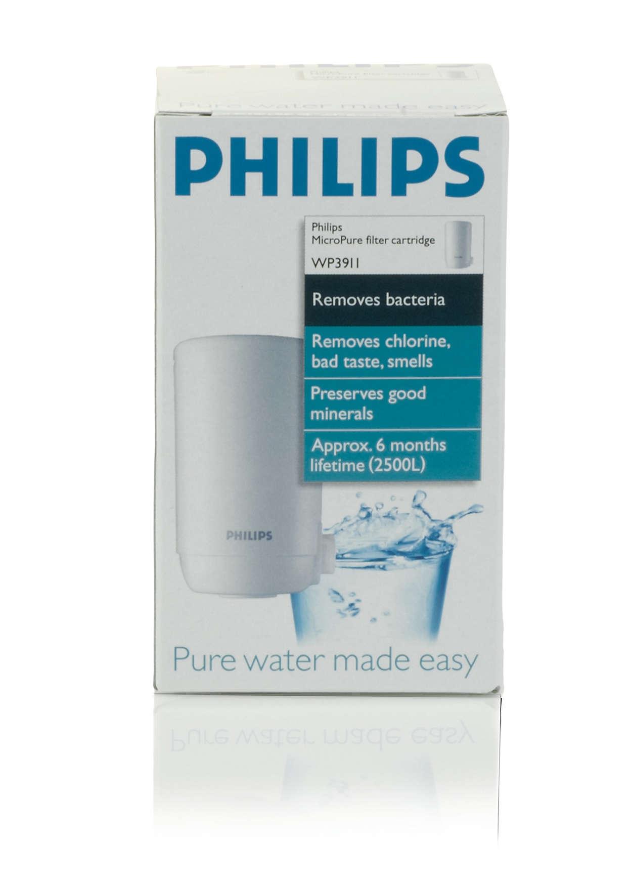 Una pieza esencial del purificador de agua