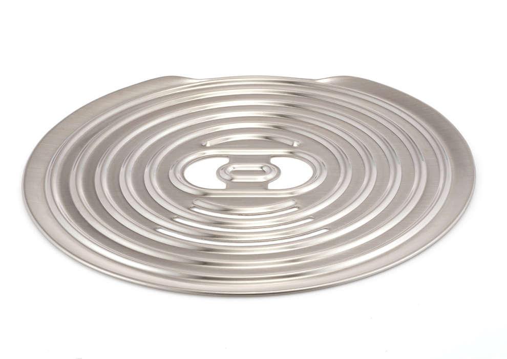 La plaque sur laquelle vous posez vos tasses