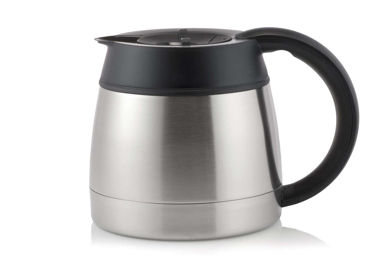 En del af din filterkaffemaskine