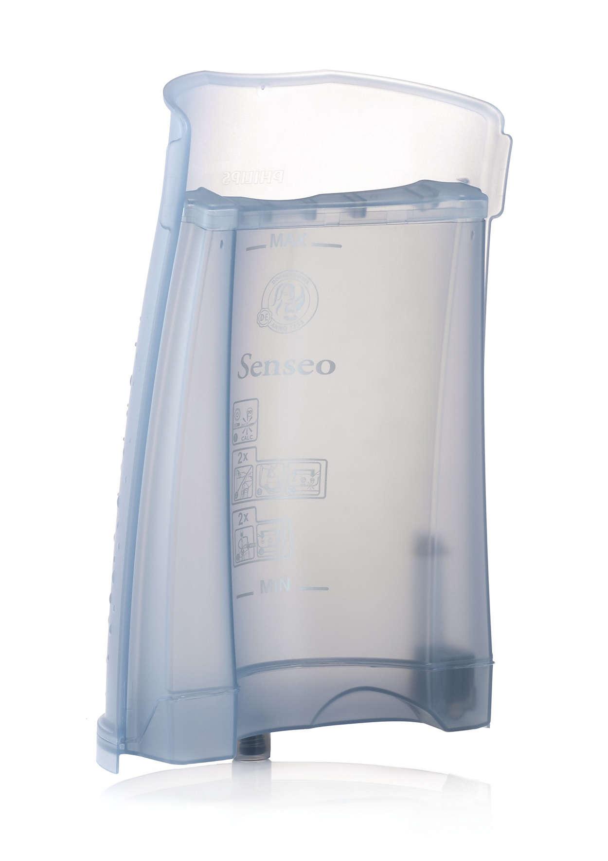 Til opbevaring af vand i din SENSEO@