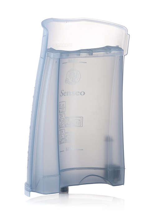 Pour stocker l'eau dans votre SENSEO®