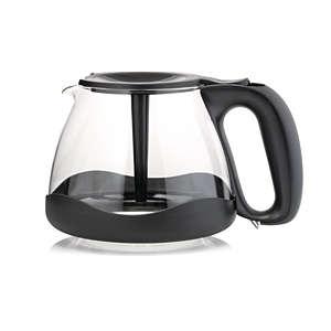 Jarra de café con paragolpes