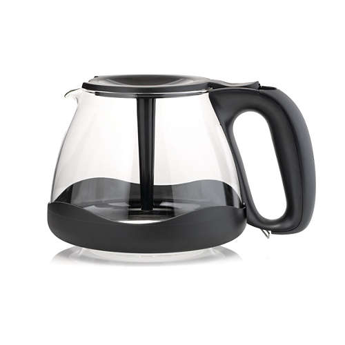 Coffee jug with bumper