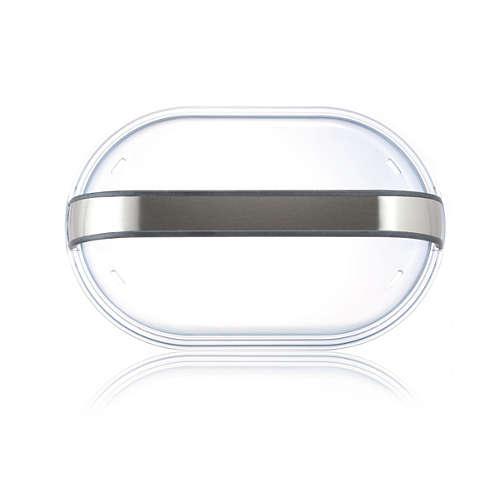 Food steamer lid