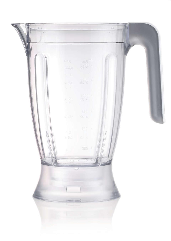 Mixerbägare till matberedare