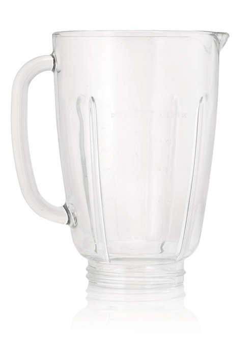 Glass beaker for blender