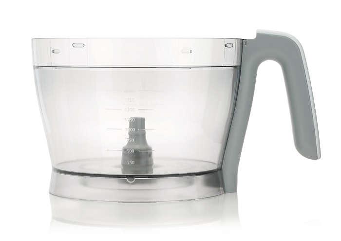 Una pieza del robot de cocina