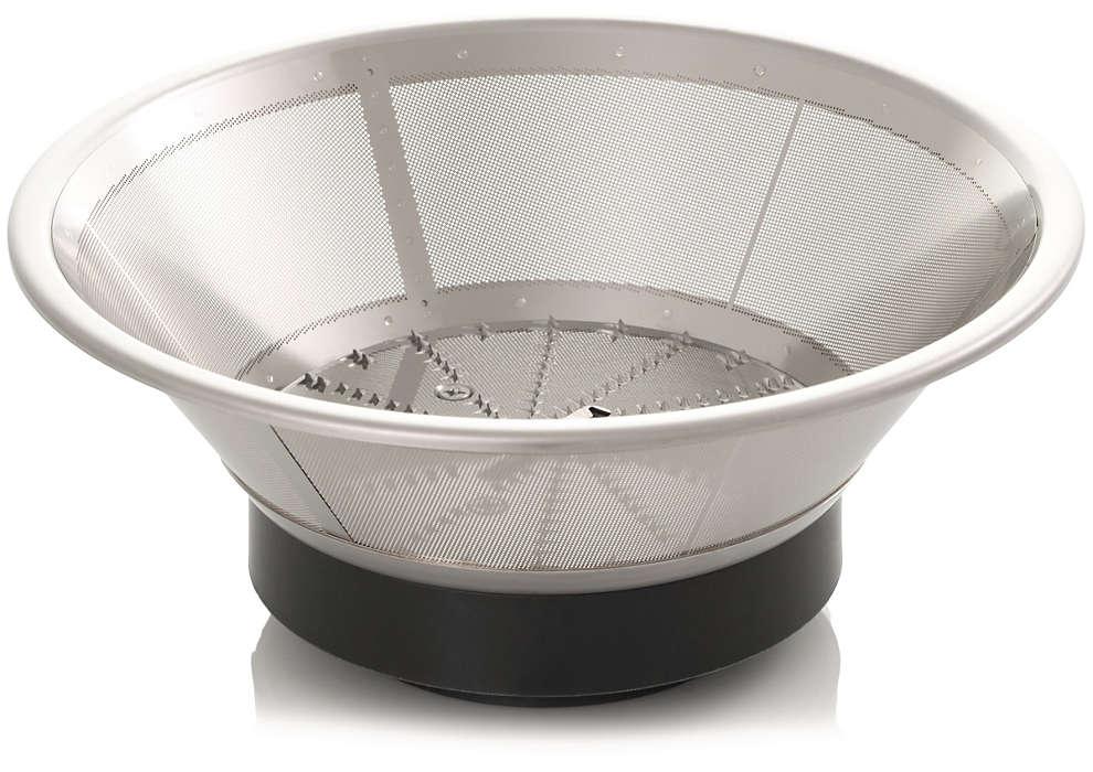 Un filtre pour votre centrifugeuse