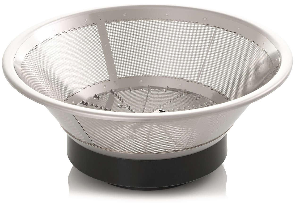 Un filtro per la centrifuga