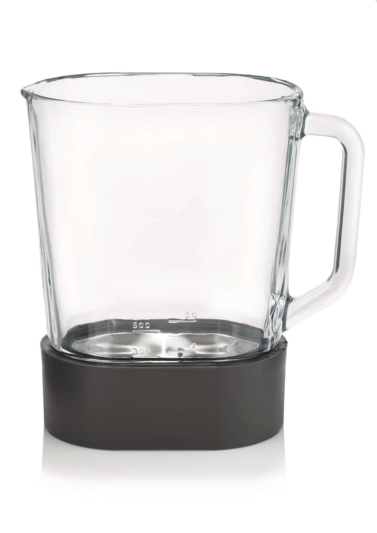 Bol en verre pour blender