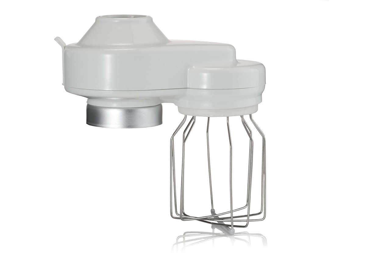 Un accesorio del robot de cocina