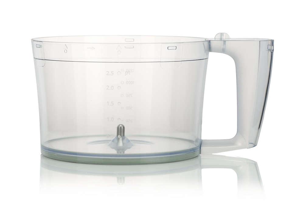 Een accessoire voor de blender