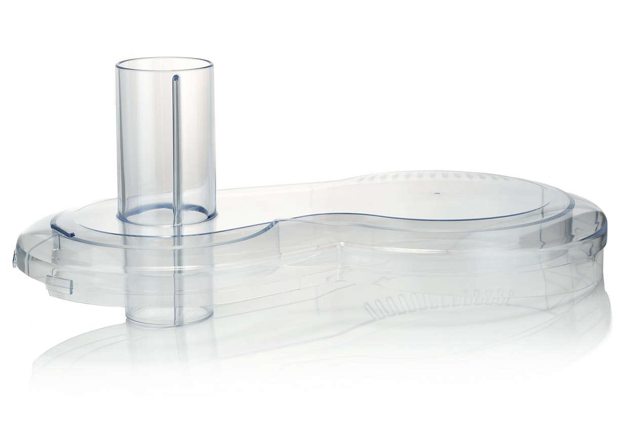 Til at lukke skålen i din foodprocessor