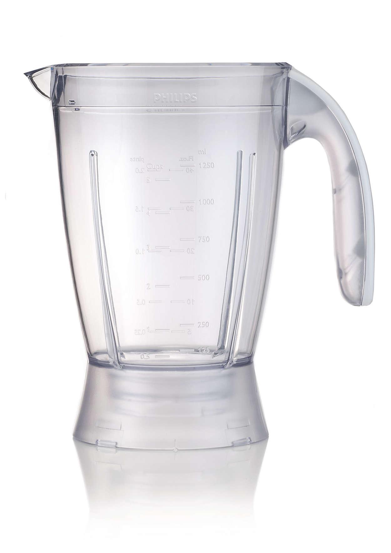 Vaso medidor de plástico para la licuadora