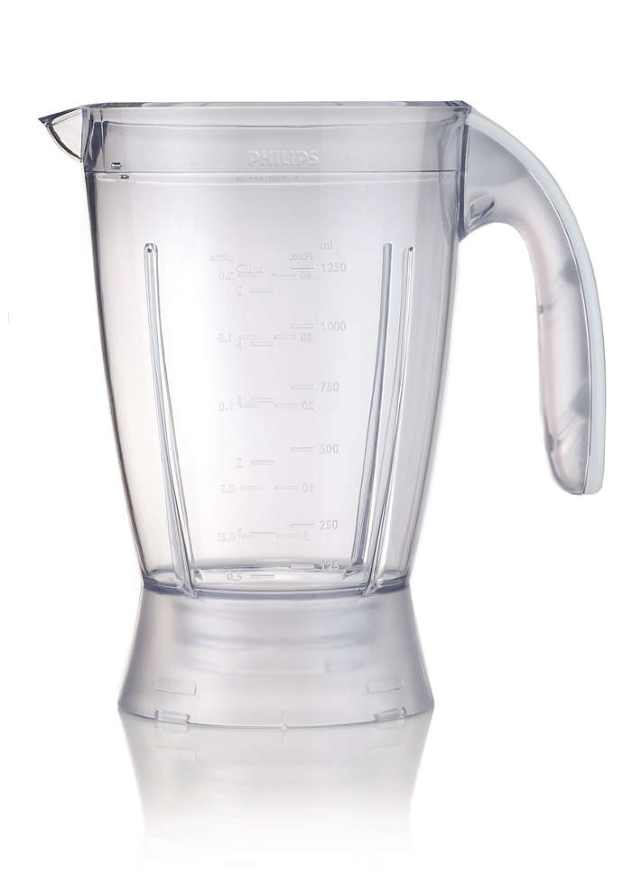 Vaso de plástico para la batidora