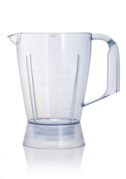 Bicchiere del frullatore per robot da cucina