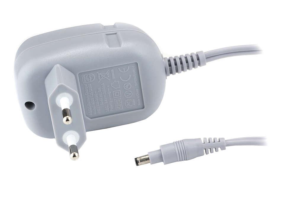 Så här strömförsörjer du epilatorn