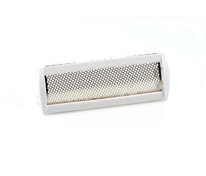 For comfortable close shaving