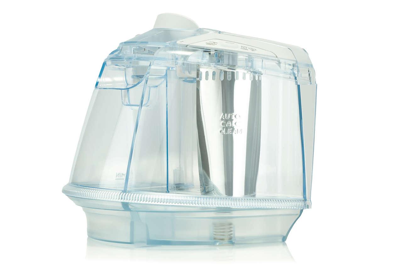 Zur Wasseraufbewahrung in Ihrem Bügeleisen