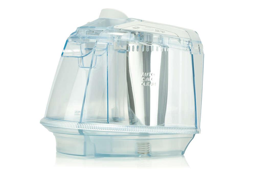 Waterreservoir voor uw strijkijzer
