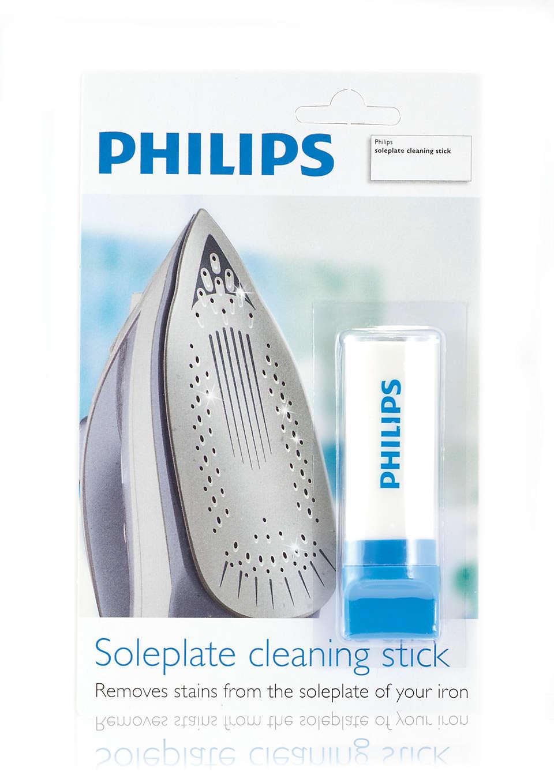 De zoolplaat van uw strijkijzer reinigen