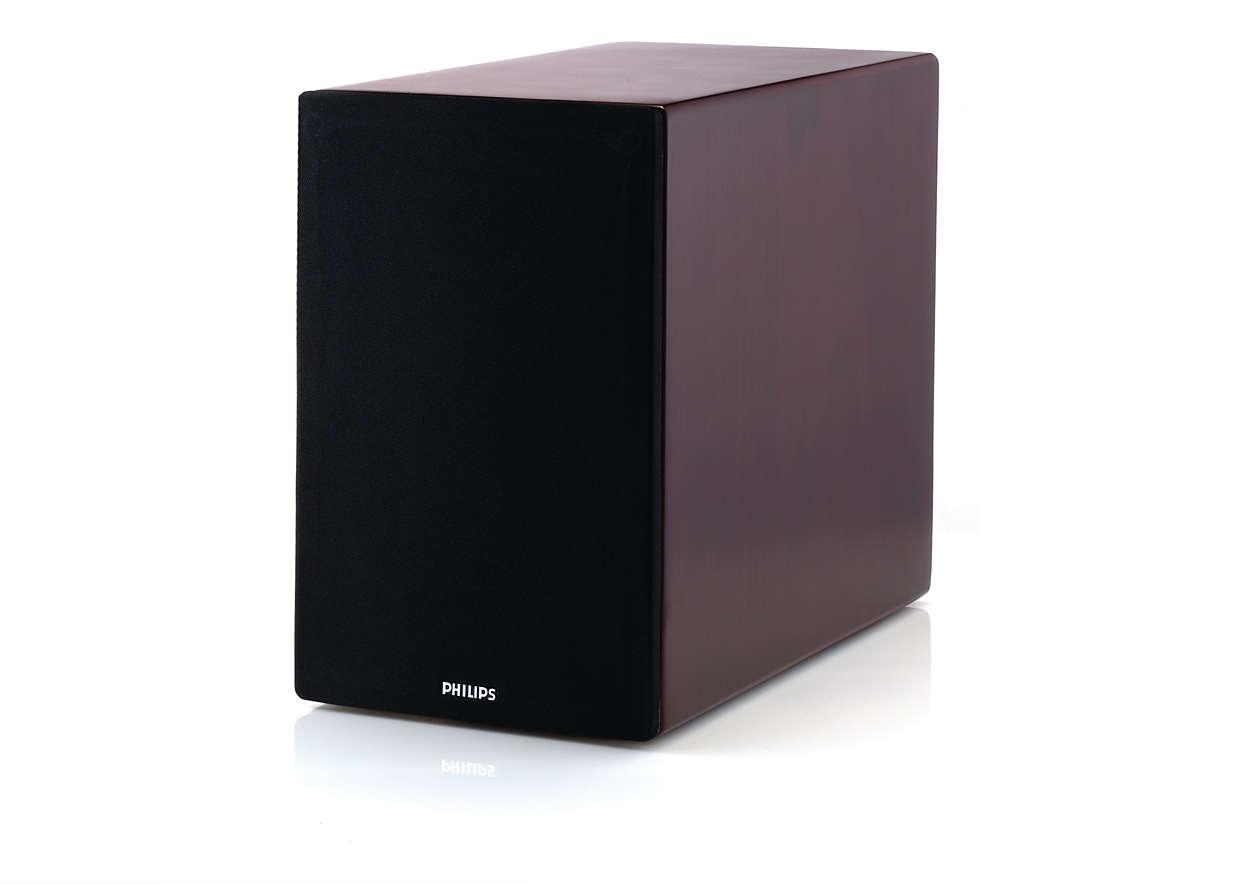 Högtalare för låga toner