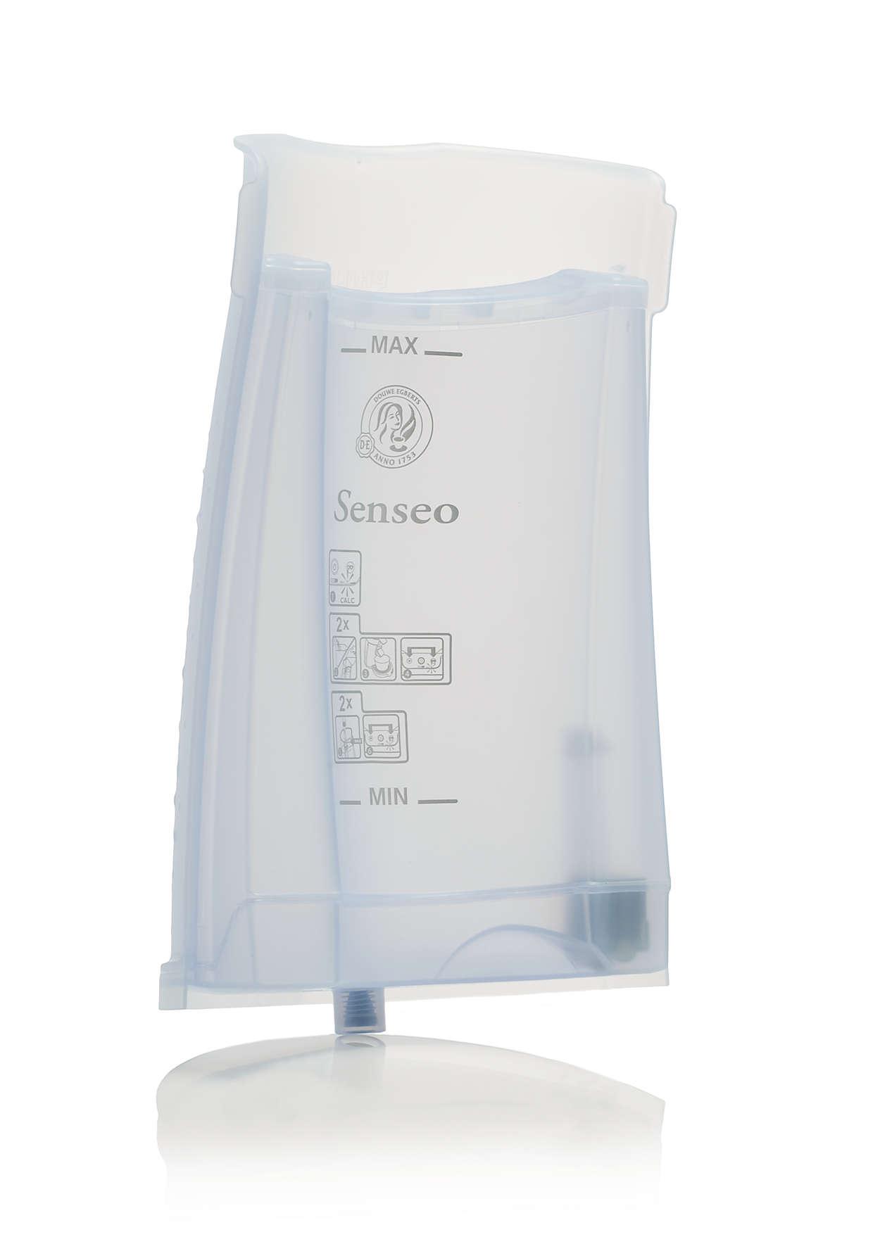 Til opbevaring af vand i din SENSEO®