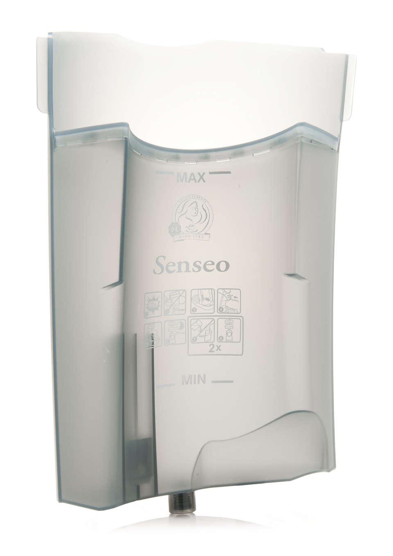 Voor opslag van water in uw SENSEO® koffiezetapparaat