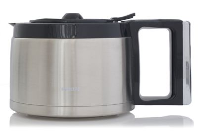 Buy Grind & Brew, sort/metal, termokandeCRP729/01 online | Philips Shop