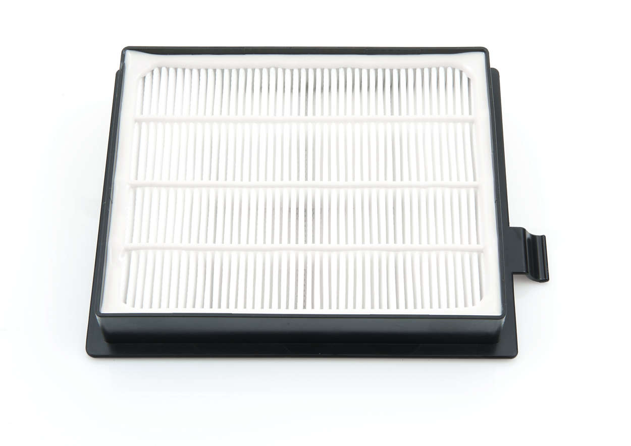 Para obtener un filtrado de aire óptimo