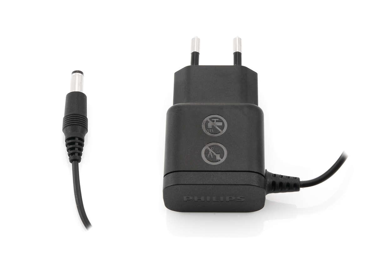 Zum Aufladen Ihres elektrischen Besens