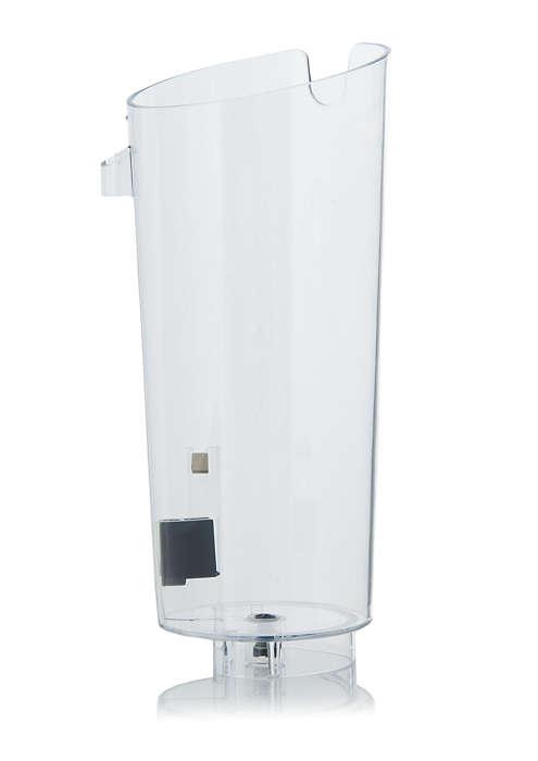 För förvaring av vatten i SENSEO®-kaffebryggaren