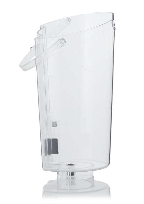 Til opbevaring af vand i din SENSEO®-kaffemaskine