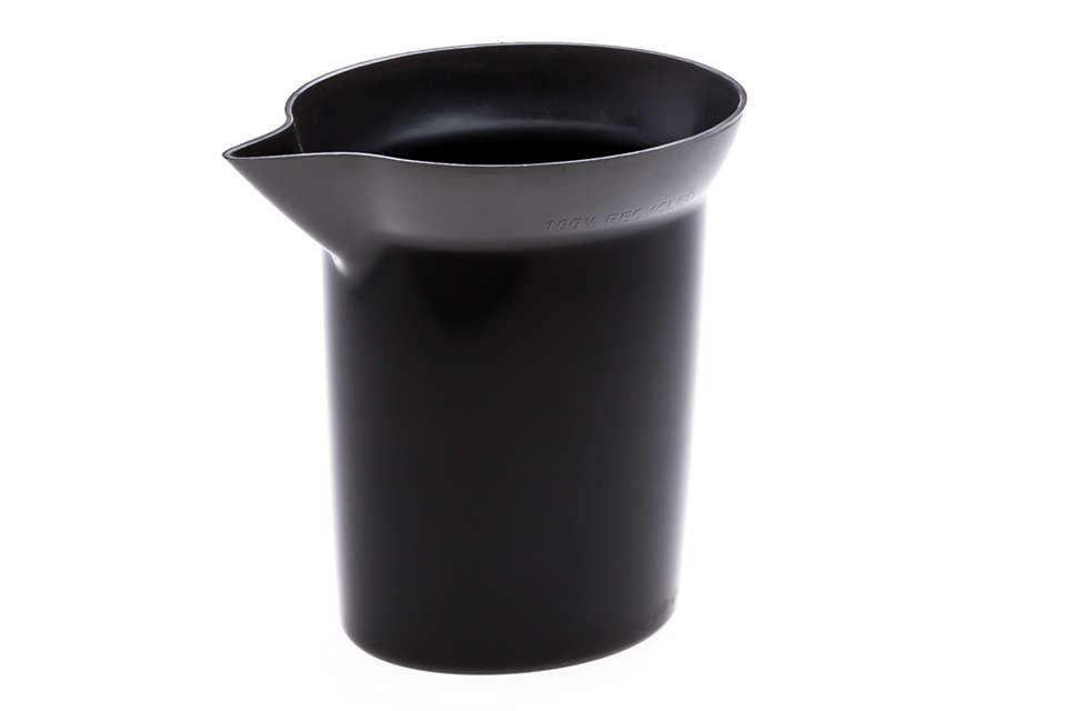 Vulbeker voor uw stoomstrijkijzer