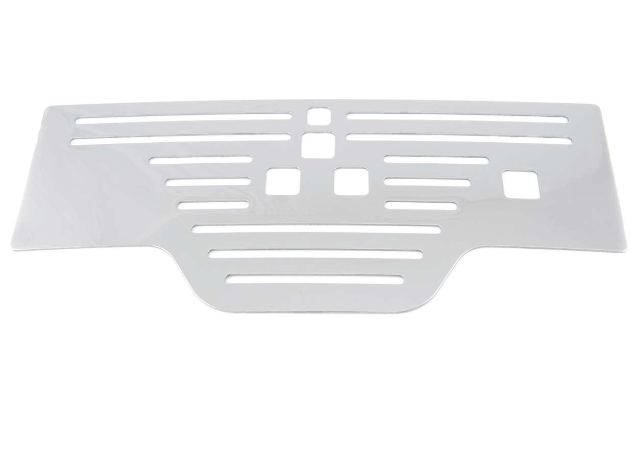 Grille recouvrant le bac d'égouttement