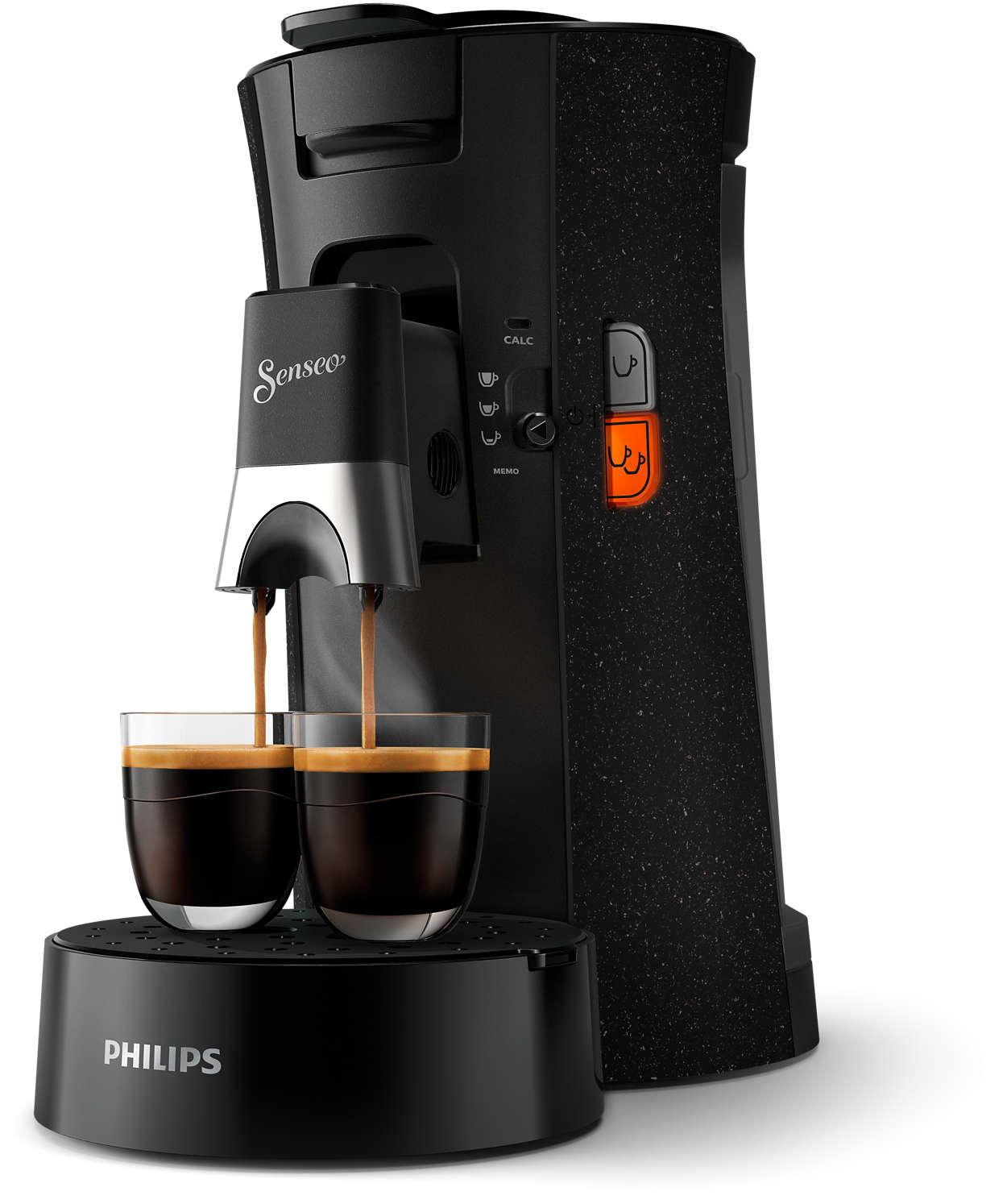 Milder und starker Kaffee oder Espresso– einfach SENSEO®