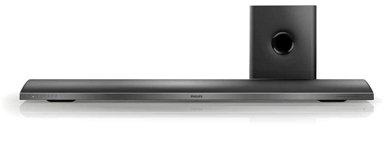 Kräftiger Sound auf jedem Fernseher