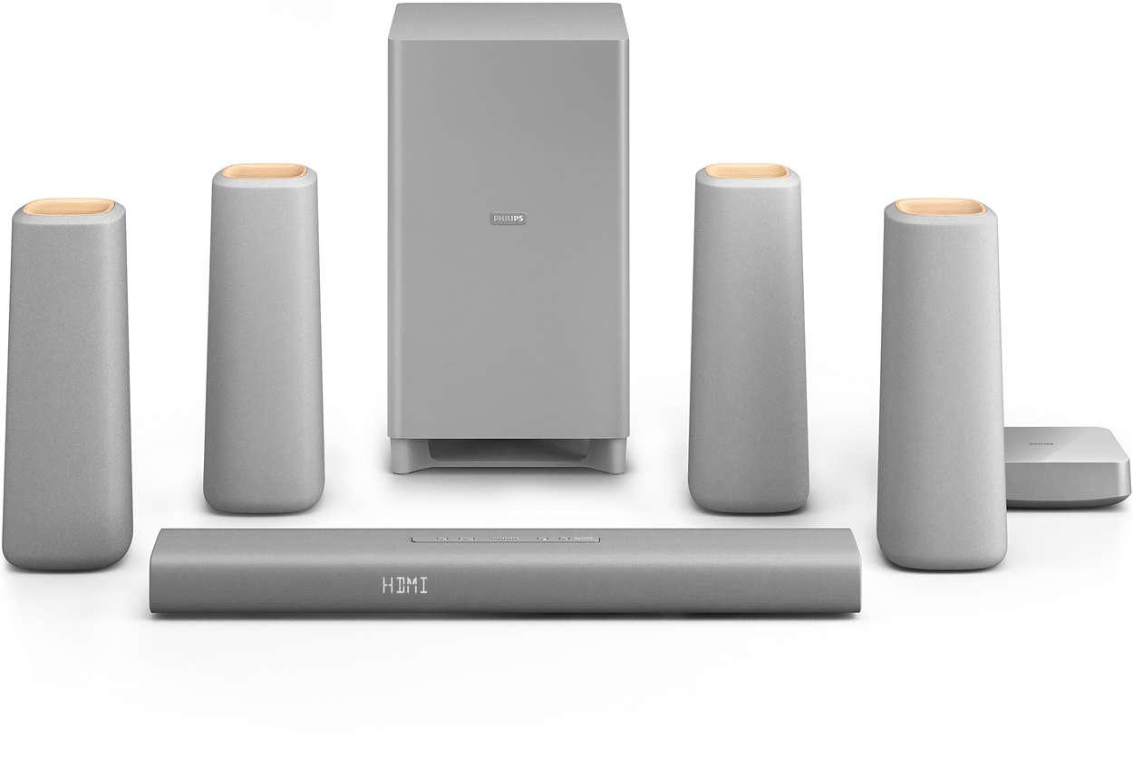 zenit cinema speakers css5530g 12 philips. Black Bedroom Furniture Sets. Home Design Ideas