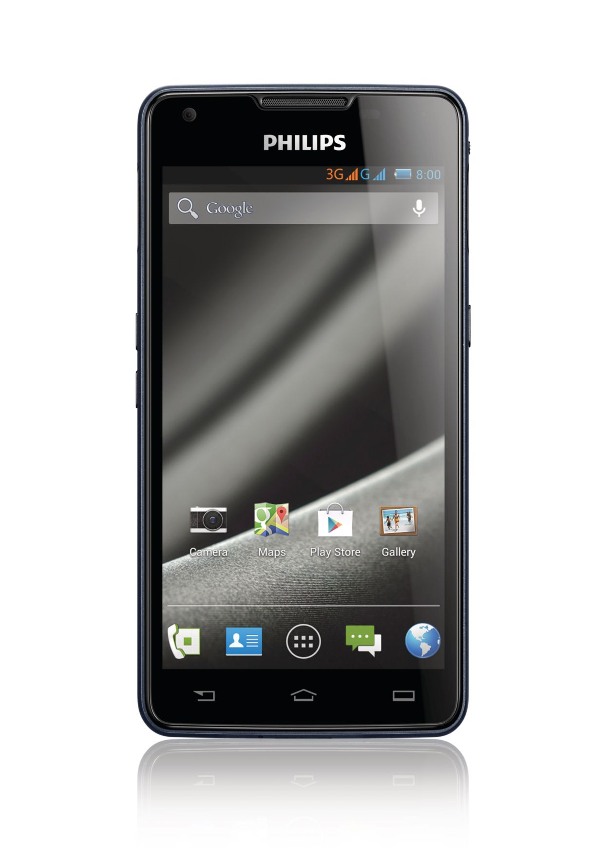 Phone Philips Android Phone xenium smartphone ctw6610ny94 philips charged for life